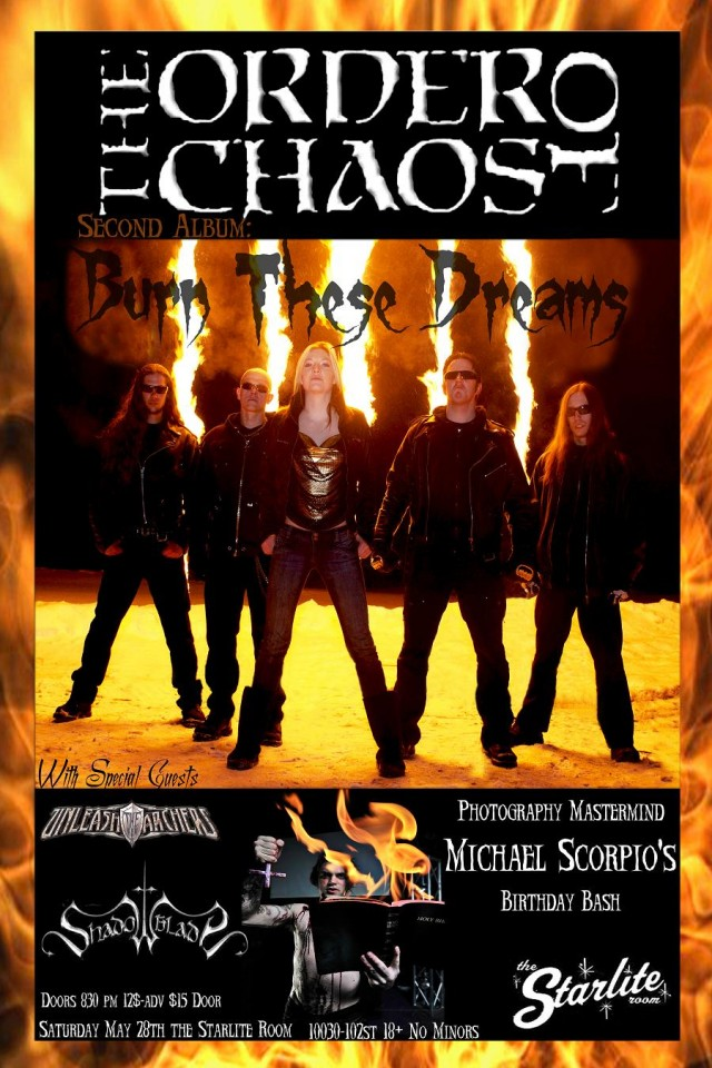 CD Release Poster (Scorpio Version)